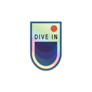 Merch: DIVE IN Stickers