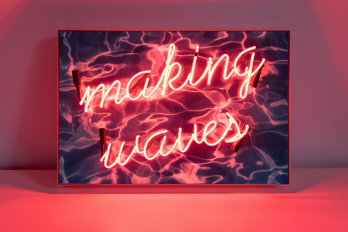 Neon Mantra: Making Waves