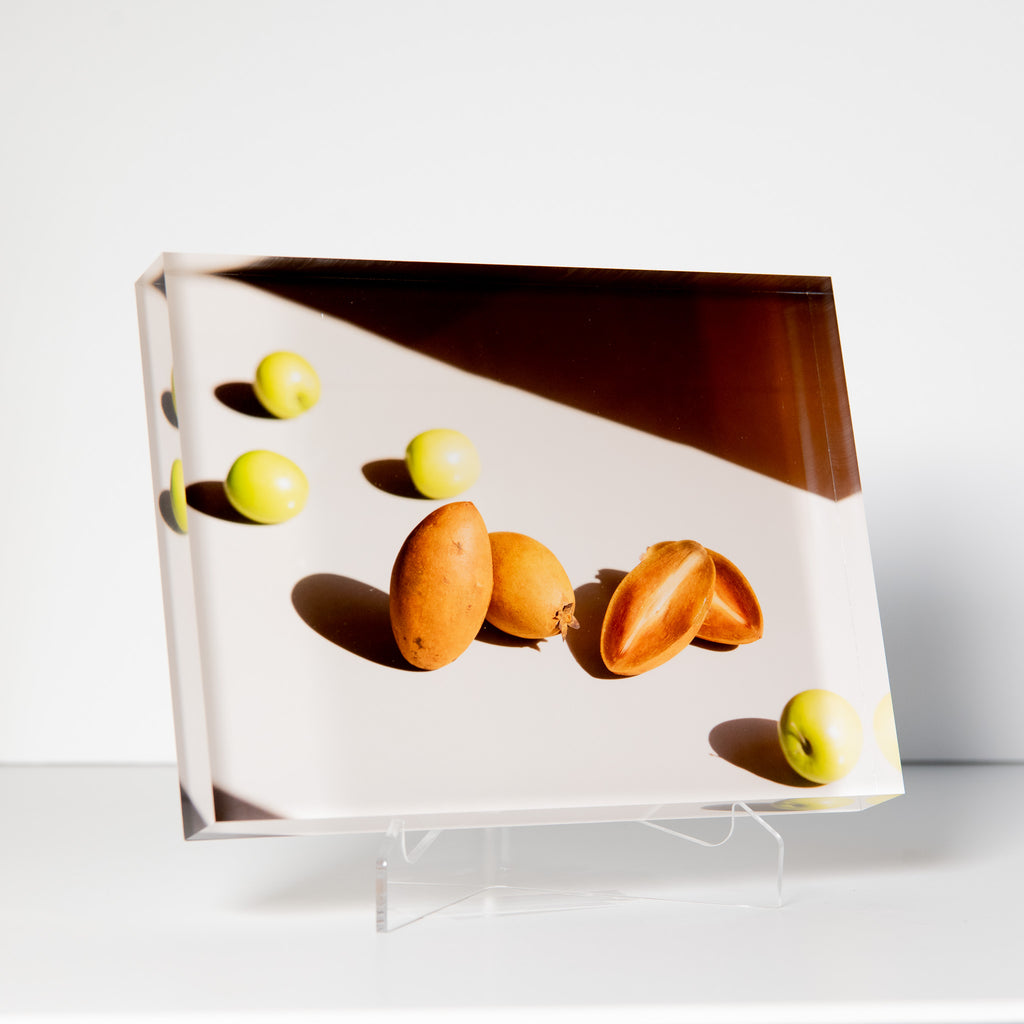Lucite Block : Thai Fruit 2