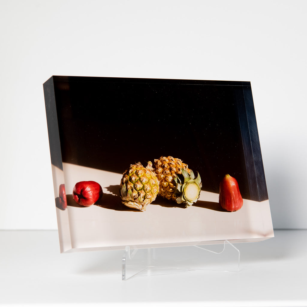Lucite Block : Thai Fruit 3