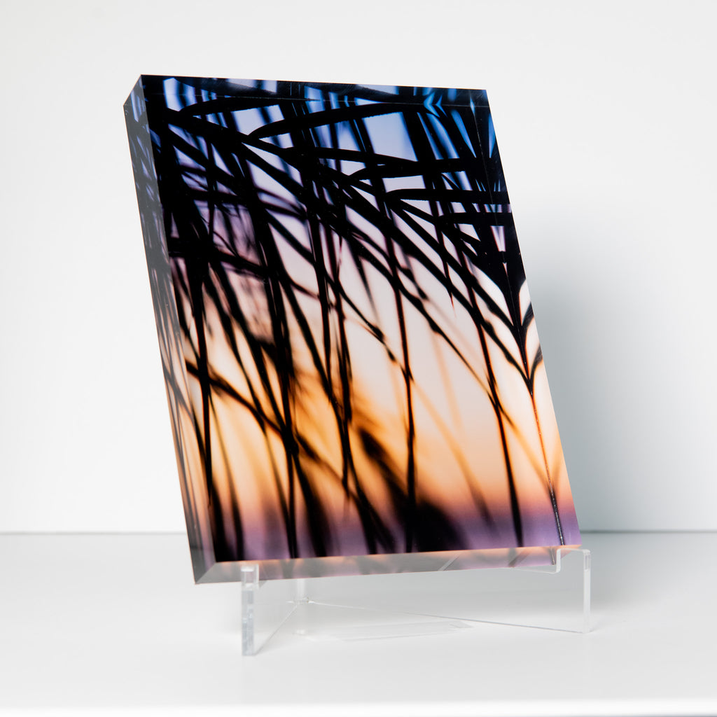 Lucite Block : The Landing