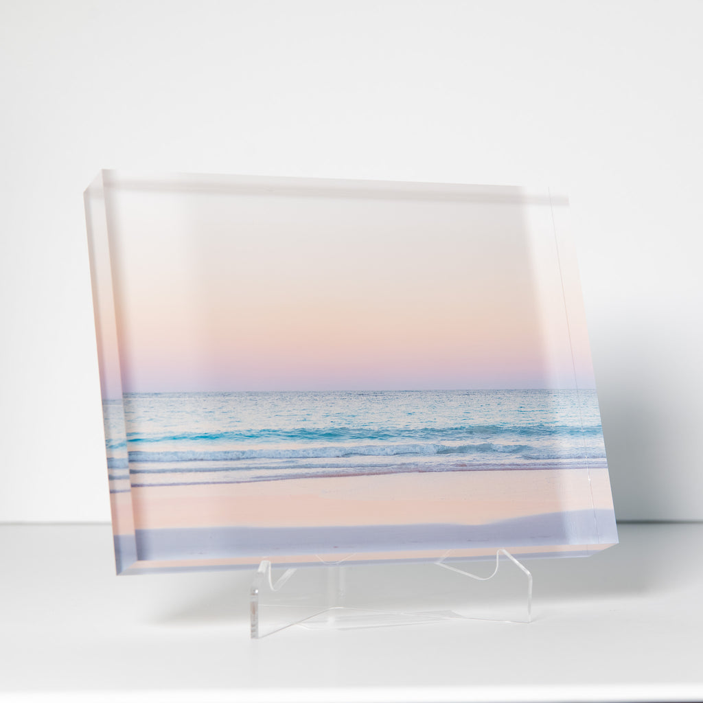 Lucite Block : Dunmore Sunset