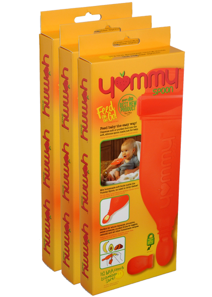 Yummy Spoon Three Pack (2nd Generation)
