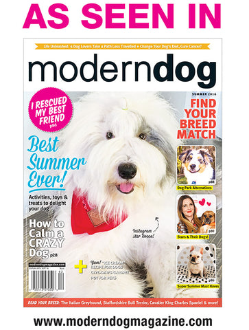 Travel Wags As Seen In Modern Dog Magazine USA