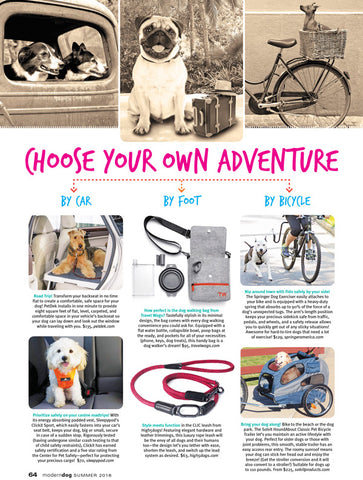 Travel Wags In Modern Dog Magazine