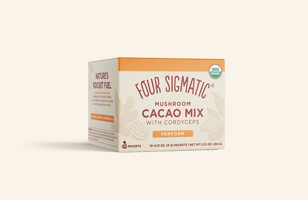 MUSHROOM CACAO MIX  WITH CORDYCEPS (4-PACK)