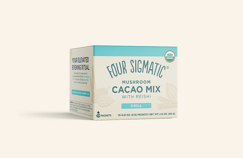 MUSHROOM CACAO MIX WITH REISHI (4-PACK)