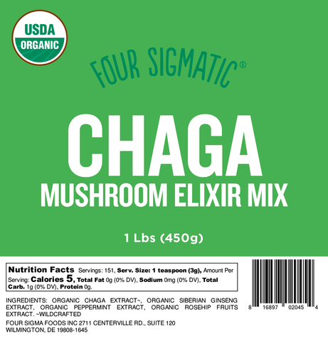 Bulk Chaga Elixir 1 lb. Bag (Limit 10 units/order)