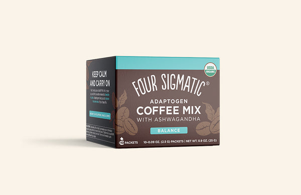 ADAPTOGEN COFFEE MIX WITH ASHWAGANDHA (4-PACK)