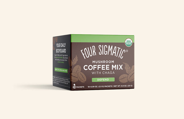 Mushroom Coffee Mix with Chaga (4-pack) (formerly Cordyceps Coffee)