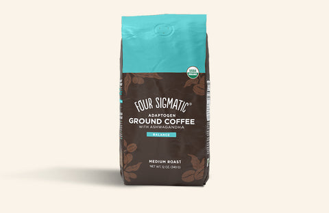 NEW! ADAPTOGEN GROUND COFFEE WITH ASHWAGANDHA (8-PACK)