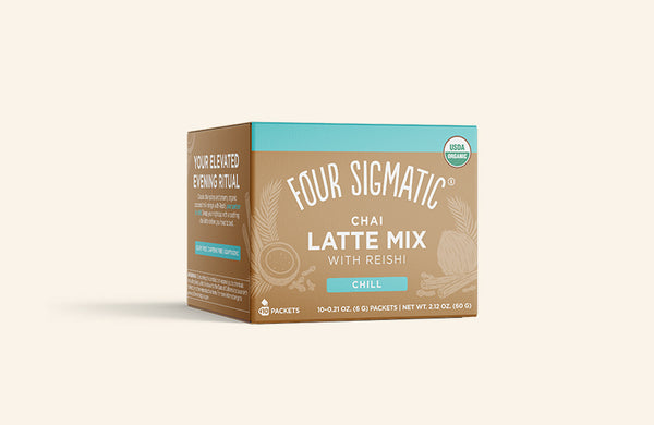 CHAI LATTE  MIX WITH REISHI (4-PACK)