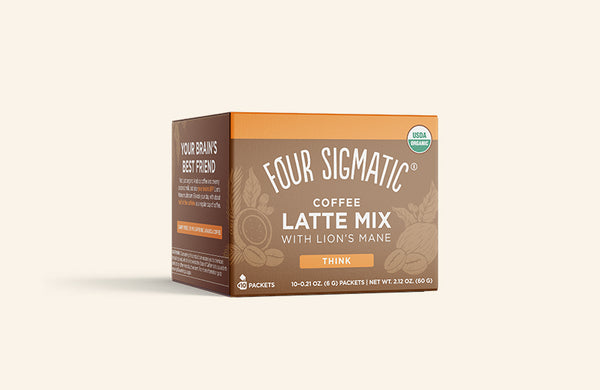 COFFEE LATTE MIX WITH LION'S MANE (4-PACK)