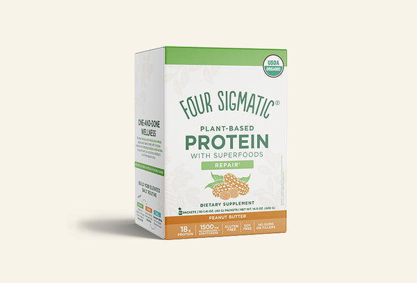 PLANT-BASED PROTEIN PEANUT BUTTER PACKETS (6 BOXES)