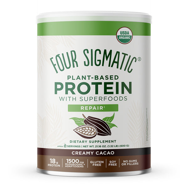 PLANT-BASED PROTEIN WITH SUPERFOODS CREAMY CACAO (6 CANS)