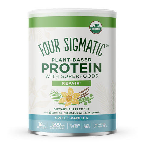 PLANT-BASED PROTEIN SWEET VANILLA (6 CANS)
