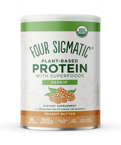 PLANT-BASED PROTEIN PEANUT BUTTER (6 CANS)