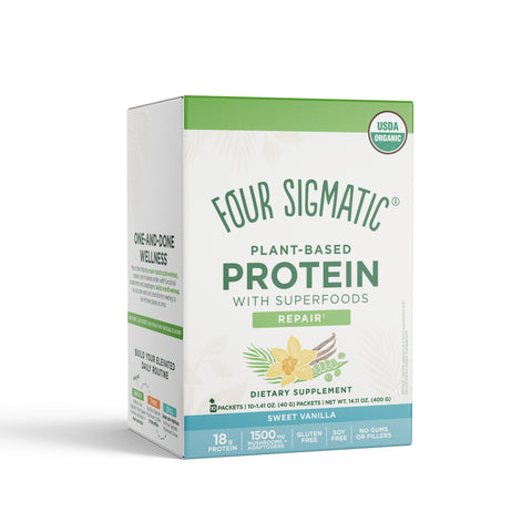 PLANT-BASED PROTEIN SWEET VANILLA PACKETS (6 BOXES)