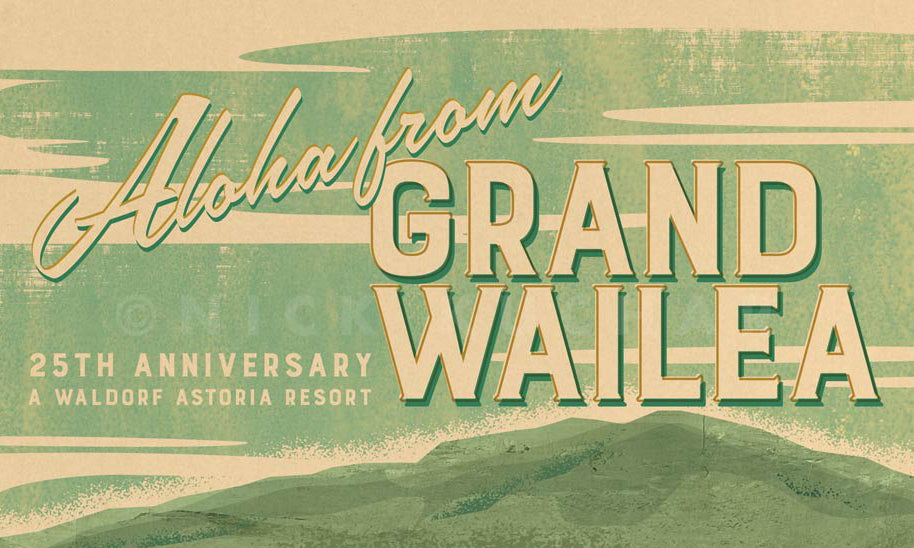 Grand Wailea 25th Anniversary Print Series