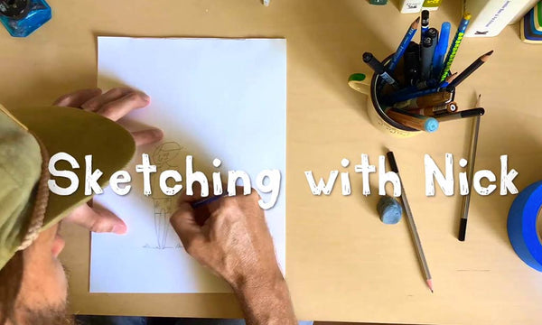 Sketching With Nick - Ep. 1