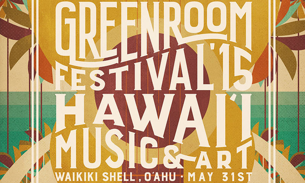 Greenroom Festival Promotional Artwork
