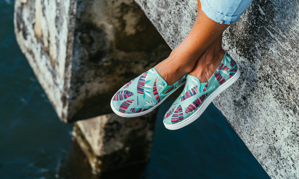 Olukai x Nick Kuchar 'Modern Aloha' Shoe Collection
