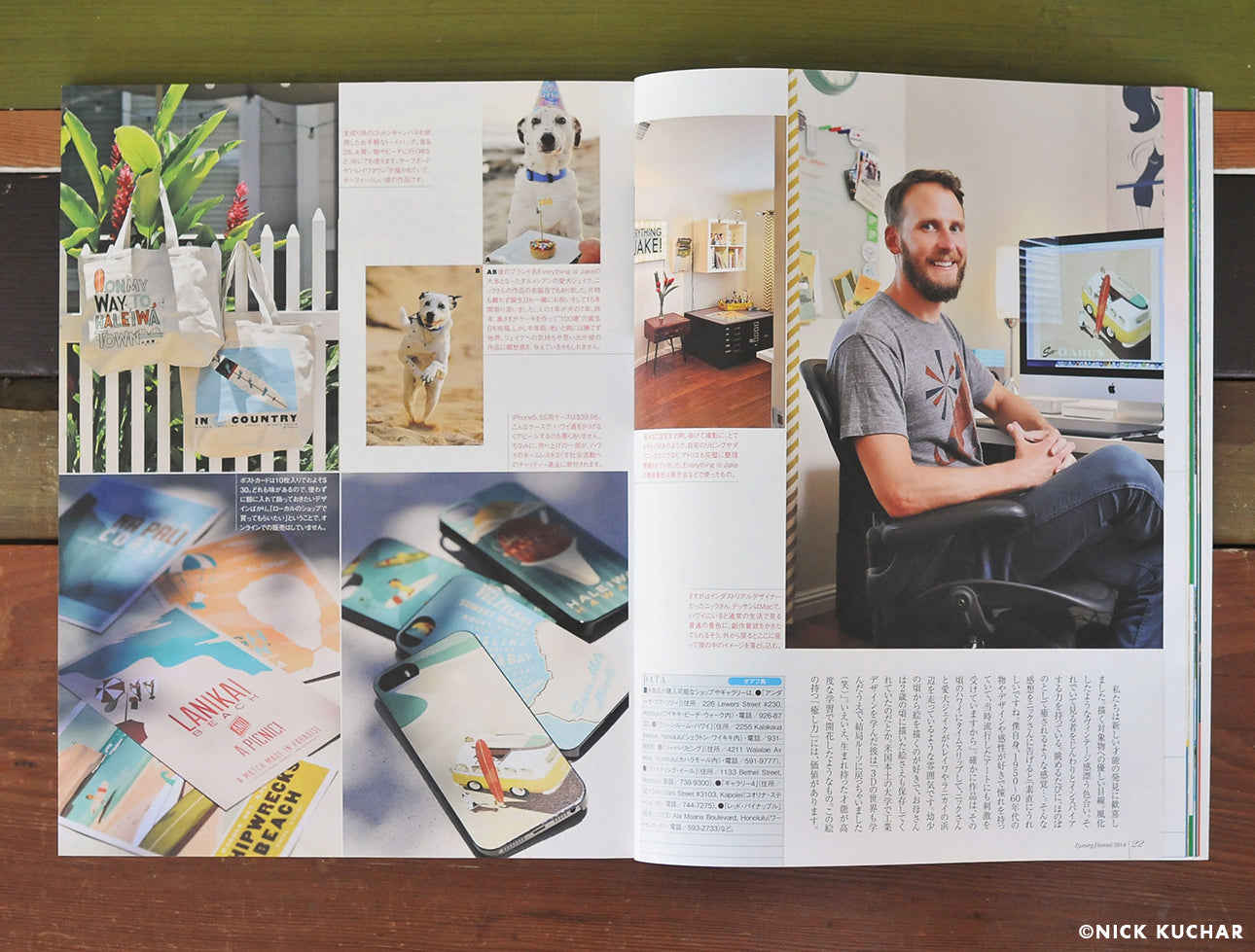 Nick Kuchar Luxury Hawaii Japan Magazine