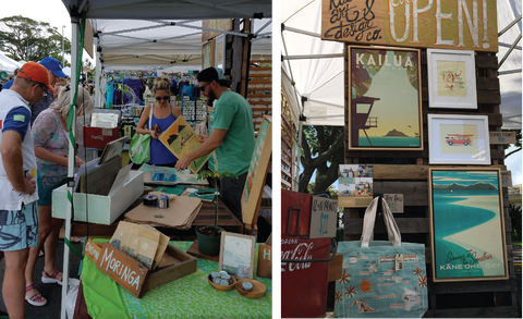 nick-kuchar-art-at-kailua-artisan-fair