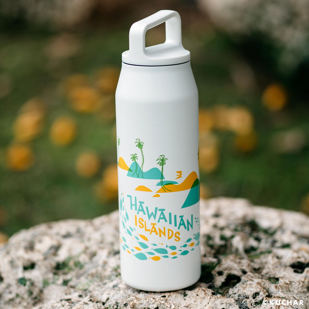 Hawaiian Islands Map - MiiR.com 32 oz. Vacuum Insulated Water Bottle
