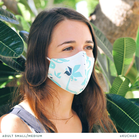 Fabric Face Mask - Manu Ihu