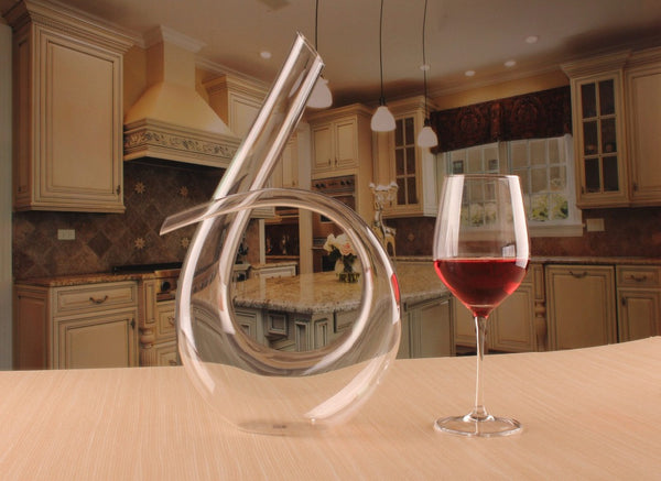 Crystal Harp Decanter
