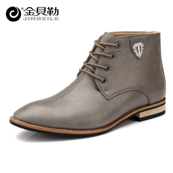 Genuine Leather Ankle Boots - 3 Colors