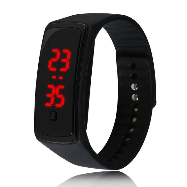 Rubber Digital Watch