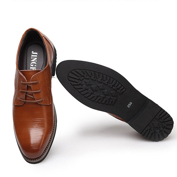Genuine Leather Business Oxfords
