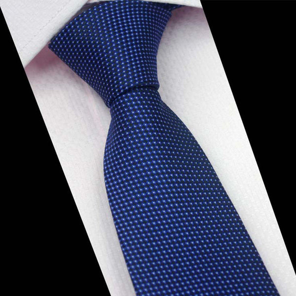 Classic Pin Dot and Rep Stripe Neckties - 17 Colors/Patterns