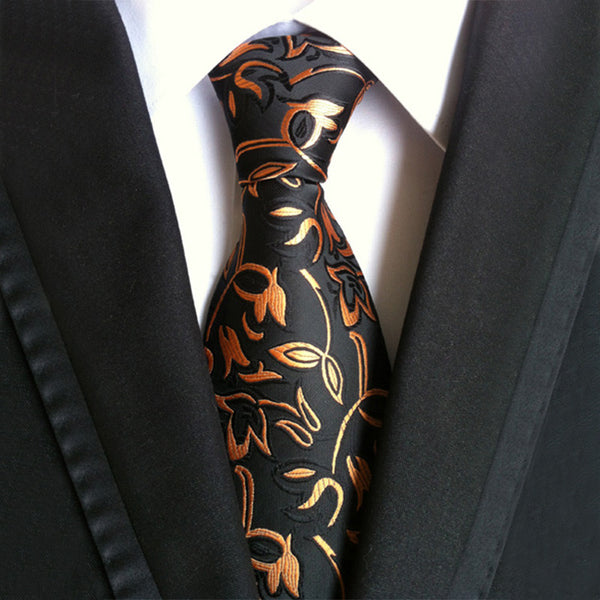 Classic Pattern Neckties - 13 Colors/Patterns