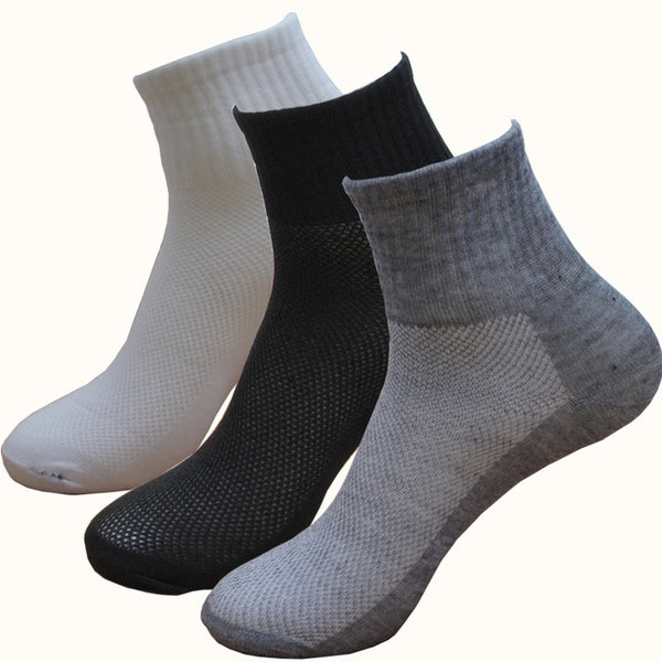 5 Pairs Men's Socks - 3 Colors