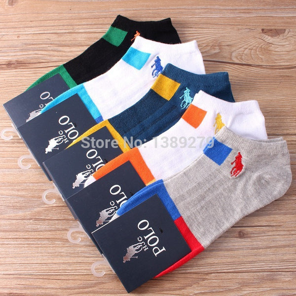 5 Pairs Cotton Short Socks