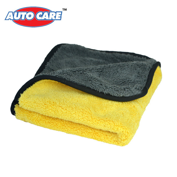 Super Thick Plush Microfiber Car Cleaning Cloths - 3 Colors
