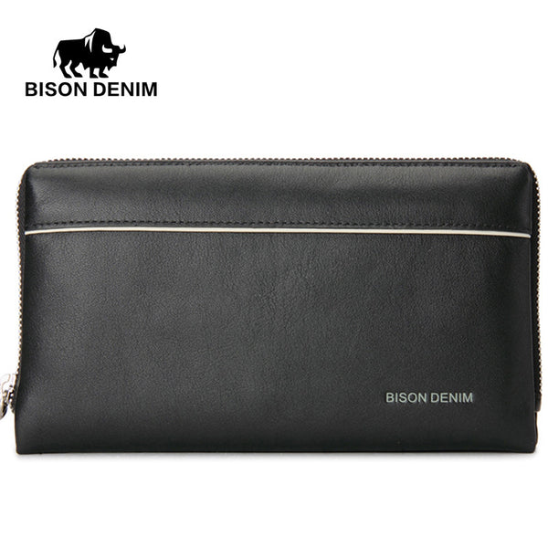 Calf Leather Wrist Wallet - 3 Colors
