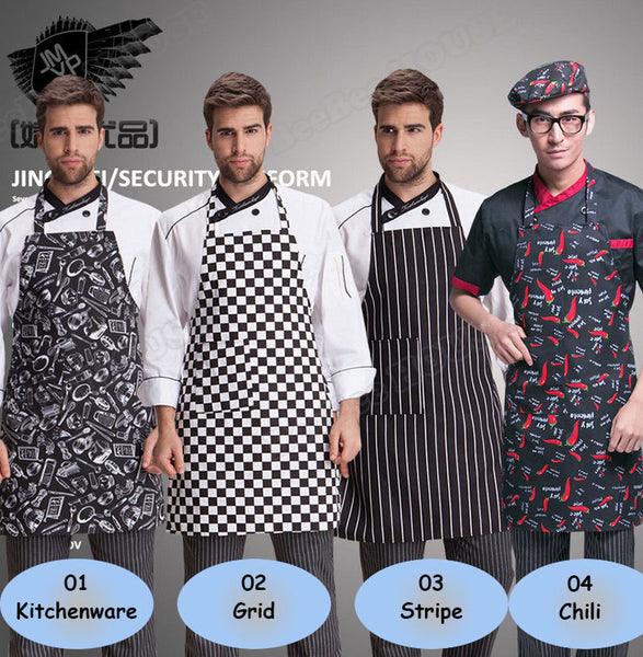 Waterproof Printed Chef Apron - 4 Patterns