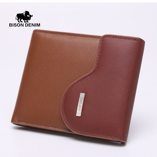 Bifold Vertical or Horizontal Wallet with Removable ID Case