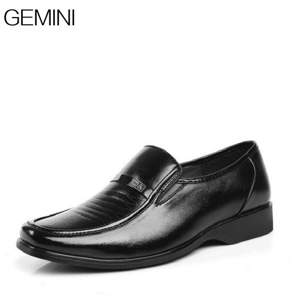 British Business Men's PU Leather Shoe