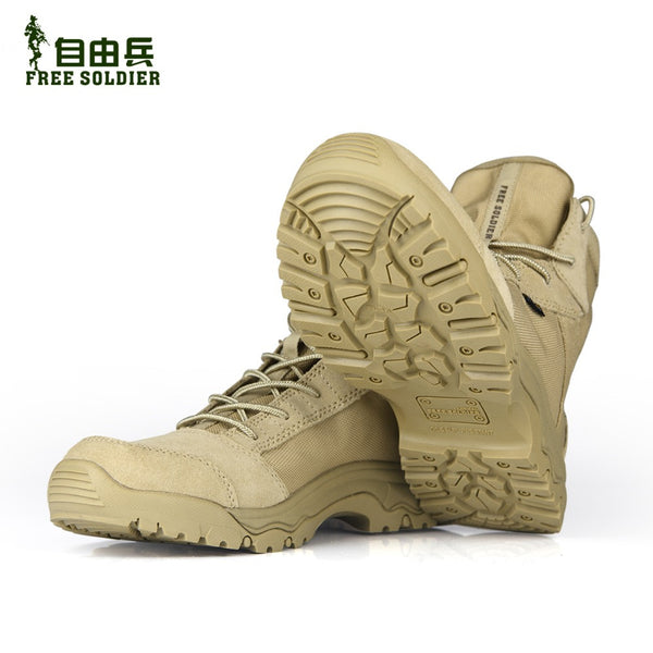 FREE SOLDIER Hiking Climbing - Breathable - Lightweight Boots - 2 Colors