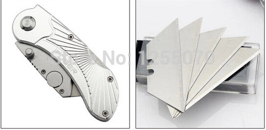 Steel Folding Cutter - Knife