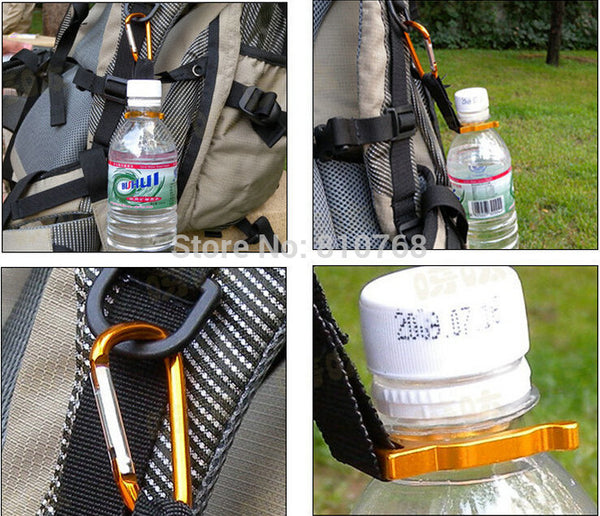 Carabiner Water Bottle Hook Clip