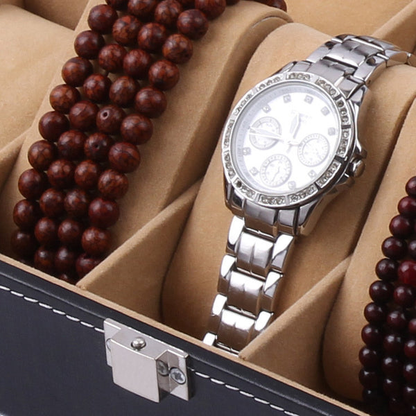Jewelry and Watch Display Storage Box  - 10 Watches