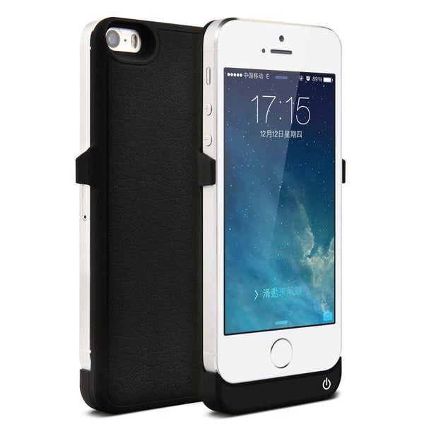2400mAh External Battery Backup Charger Case for iPhone5 5S SE