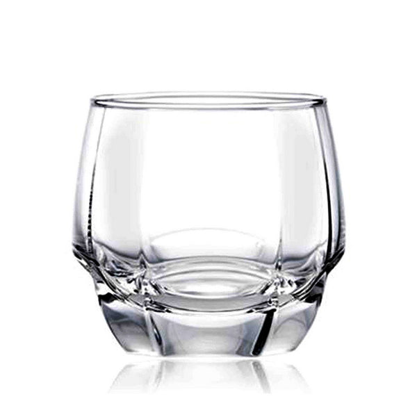 Contemporary Cut Glass Old Fashioned