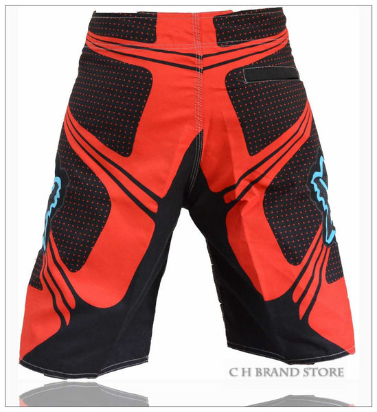 Black and Red Board Short - S - XXL